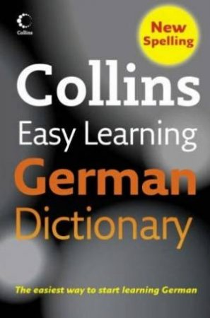 Collins Easy Learning German Dictionary - 4 Ed by Unknown