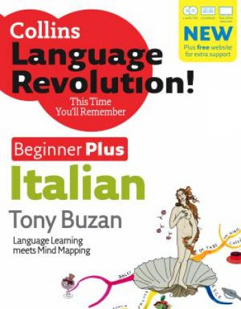 Collins Italian Beginner Plus (Bk and CD) by Tony Buzan