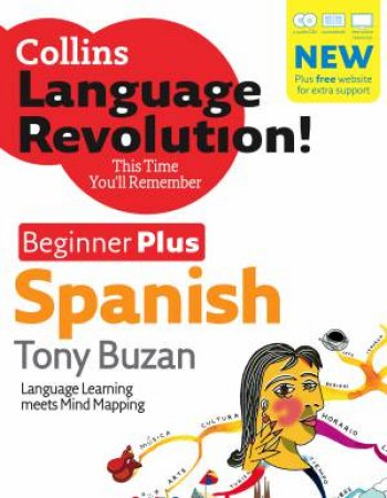 Collins Spanish Beginner Plus (Bk and CD) by Tony Buzan
