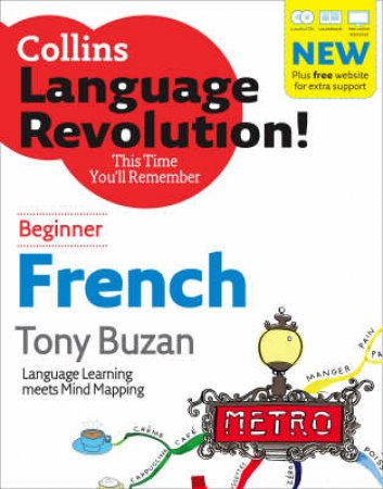 Collins French Language Revolution: Beginner by Tony Buzan