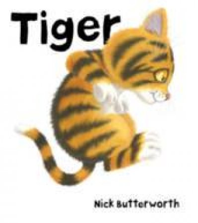 Tiger - Book & CD by Nick Butterworth