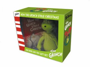 How The Grinch Stole Christmas - Book & plush by Dr Seuss