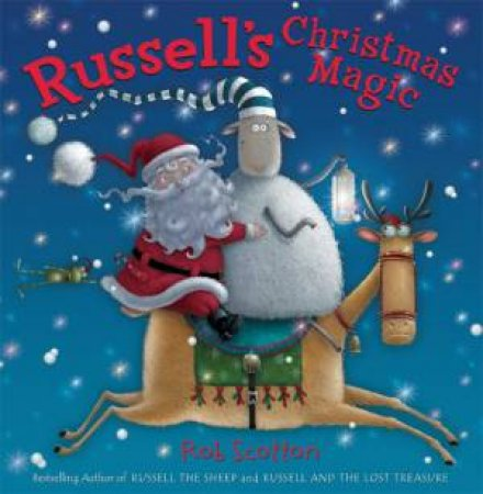 Russell's Christmas Magic, Book And CD by Rob Scotton