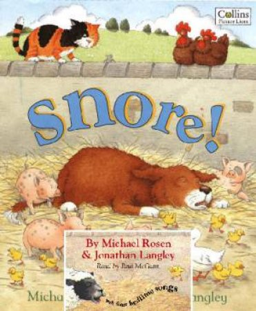 Snore! Book And CD by Michael Rosen