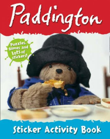 Paddington Sticker Activity Book by .