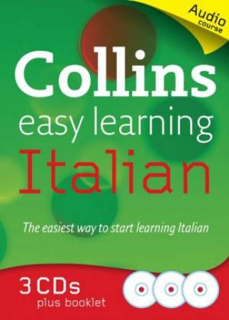 Collins Easy Learning Italian Audio Course by Clelia Boscolo