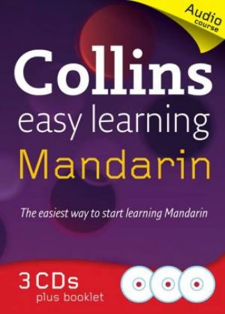 Collins Easy Learning Mandarin Audio Course by Wei Jin & Rosi McNab