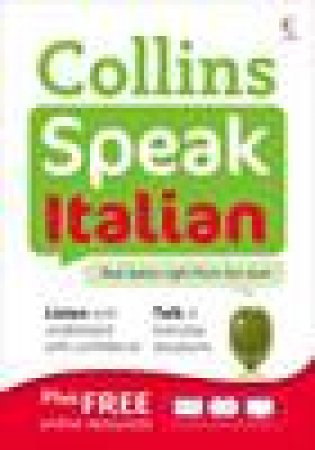 Collins Speak Italian with CD by Various