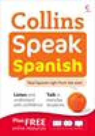 Collins Speak Spanish with CD by Various