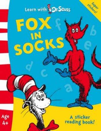 Learn with Dr.Seuss - Fox in Socks by Dr Seuss