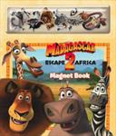 Madagascar Escape 2 Africa - Magnet Book by Various