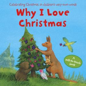 Why I Love Christmas (Flocked Board Book) by Various