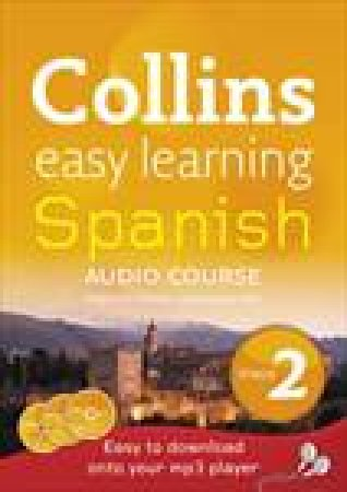 Collins Easy Learning Spanish Audio Course: Level 2 by Carmen Garcia del Rio