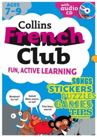 Collins French Club: Fun, Active Learning 01 by Rosi McNab