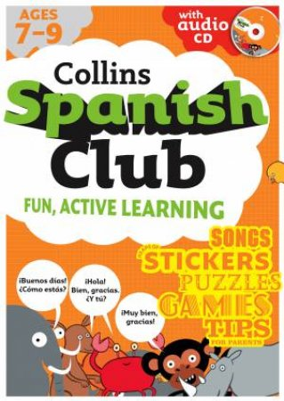 Collins Spanish Club: Fun, Active Learning 01 by Rosi McNab