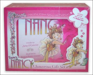 Fancy Nancy Glamorous Gift Set by Jane O'Connor