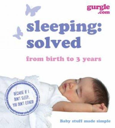 Gurgle Sleep: Solved by Gurgle