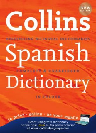Collins Spanish Dictionary in Colour, 9th Ed by Various