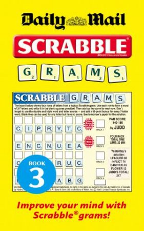 Daily Mail Scrabble Grams: Puzzle Book 3 by Various