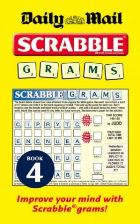 Daily Mail Scrabble Grams: Puzzle Book 4 by Various