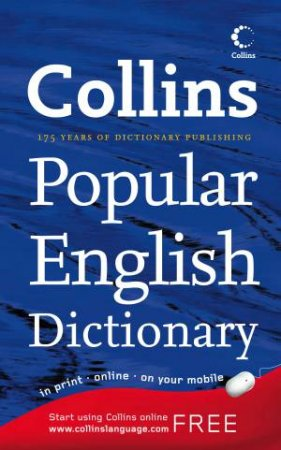 Collins Popular English Dictionary by Collins
