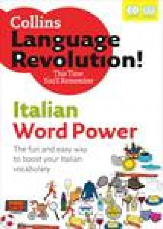 Collins Language Revolution!: Italian Word Power plus 2xCDs by Clelia Boscolo & Tony Buzan