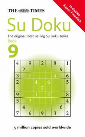Times: Su Doku Book 9 by Syndication Sudoku