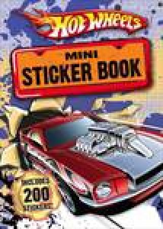 Hot Wheels Mini Sticker Book by Various