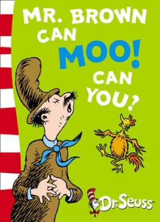 Dr Seuss: Mr Brown Can Moo! Can You? plus CD by Dr Seuss