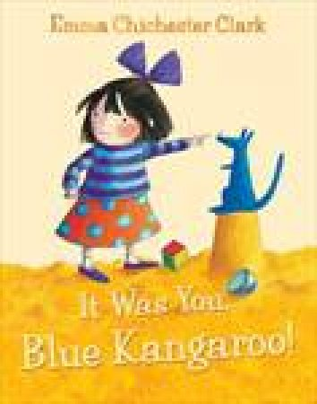 It Was You Blue Kangaroo plus CD by Emma Chichester Clark