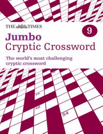 Times Jumbo Cryptic Crossword Book 9 by Various