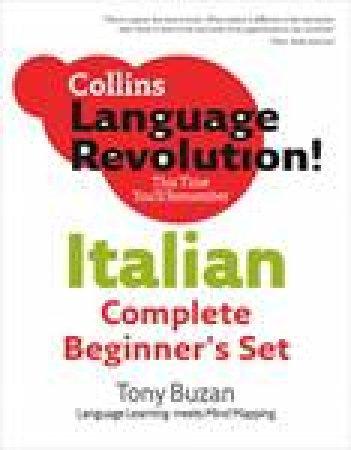 Collins Language Revolution!: Italian Complete Beginner's Set by Clelia Boscolo & Tony Buzan