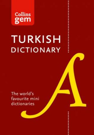 Collins Gem: Collins English-Turkish Dictionary by Various