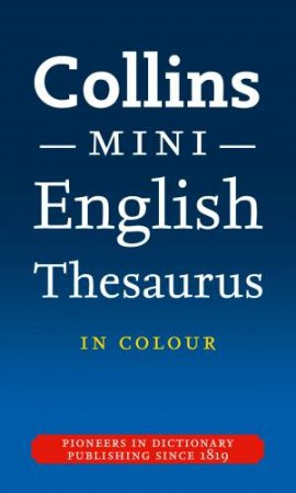 Collins Mini Thesaurus by Various