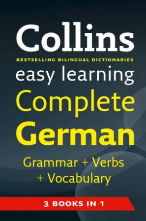 Collins Easy Learning Complete German by Various