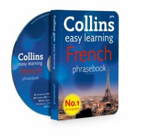 Collins Gem Easy Learning French Phrasebook plus CD by Various
