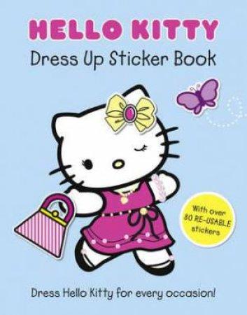 Hello Kitty Dress Up Sticker Book by Hello Kitty