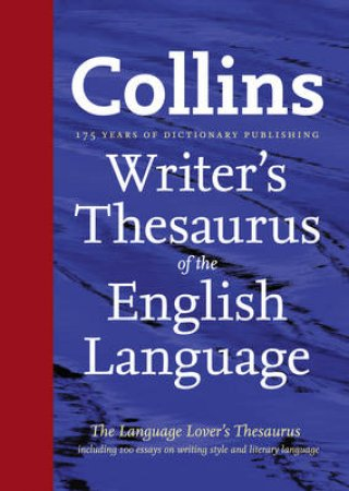 Collins Writer's Thesaurus of the English Language by Various