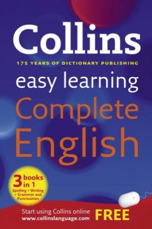 Collins Easy Learning Complete English by Various