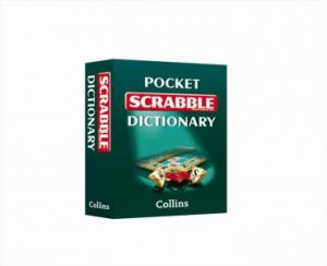 Collins Pocket Scrabble Dictionary Gift Edition by Various