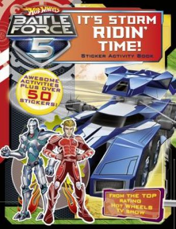 It's Storm Ridin' Time! Sticker Activity Book by Various