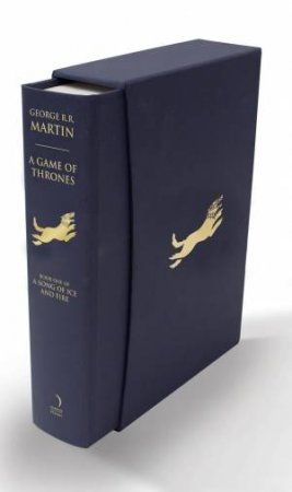 A Game Of Thrones Slipcase Edition by George R R Martin