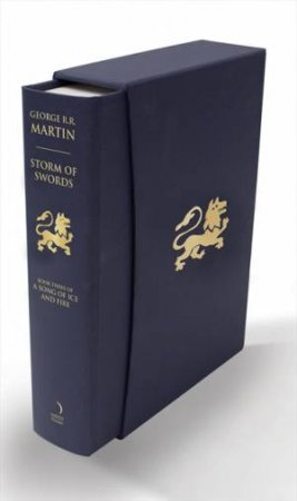 A Storm Of Swords Slipcase Edition by George R R Martin