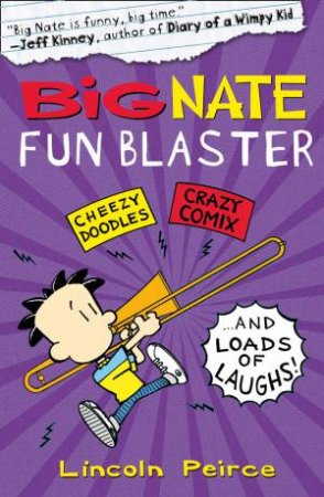 Big Nate Fun Blaster - Activity Book