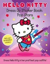 Hello Kitty Pop Stars Dress Up Sticker Book