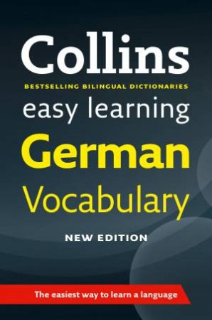 Collins Easy Learning German Vocabulary by Various