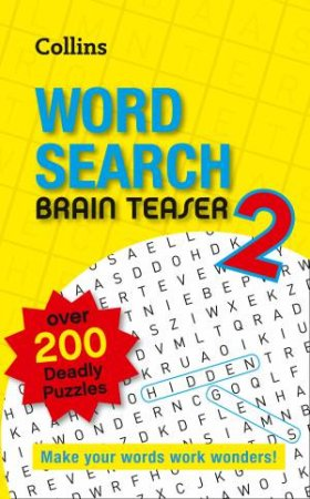 Collins Word Search Brain Teaser 2 by None