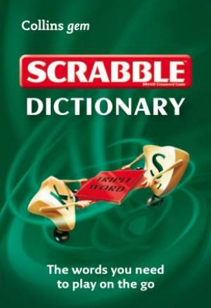 Collins Gem Scrabble Dictionary by Various