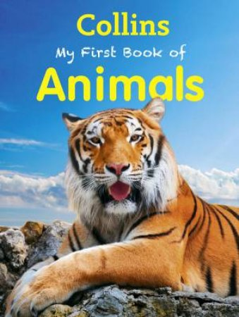 Collins My First Book Of Animals by Various