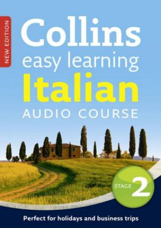 Collins Easy Learning Audio Course: Italian (Stage 2) by Clelia Boscolo